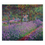 Claude Monet | The Artist's Garden at Giverny Poster