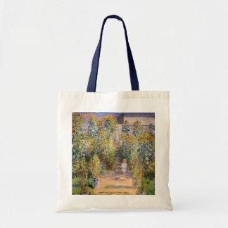 Claude Monet - The Artist's Garden at Vétheuil