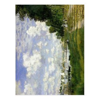 Claude Monet The Basin at Argenteuil 1872 Techniqu Post Cards