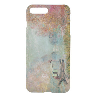Claude Monet | The Boat Studio on the Seine, 1875 iPhone 8 Plus/7 Plus Case