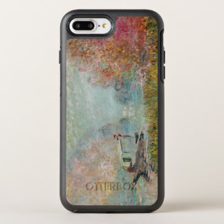 Claude Monet | The Boat Studio on the Seine, 1875 OtterBox Symmetry iPhone 8 Plus/7 Plus Case