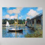 Claude Monet: The Bridge at Argenteuil
