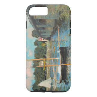 Claude Monet The Bridge At Argenteuil Vintage Art iPhone 8 Plus/7 Plus Case
