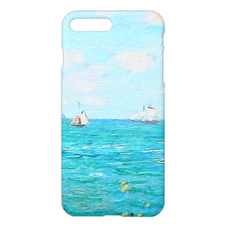 Claude Monet The Cabin At Saint-Adresse Fine Art iPhone 8 Plus/7 Plus Case