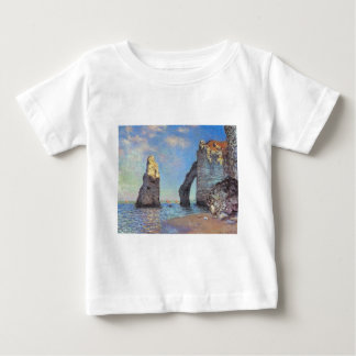 Claude Monet // The Cliffs at Etretat Baby T-Shirt