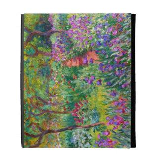 Claude Monet The Iris Garden at Giverny iPad Case