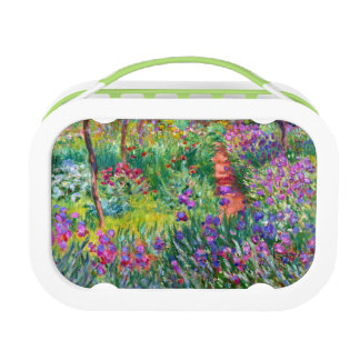 Claude Monet: The Iris Garden at Giverny Lunch Boxes