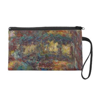 Claude Monet   The Japanese Bridge Wristlet Clutch