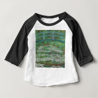 Claude Monet - The Japanese Footbridge Baby T-Shirt