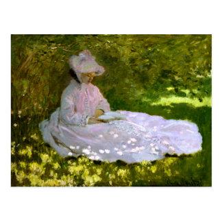 Claude Monet: The Reader Postcard