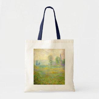 Claude Monet Tote Bag - Meadows at Giverny