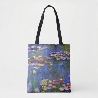 Claude Monet Water Lilies, 1916 Tote Bag