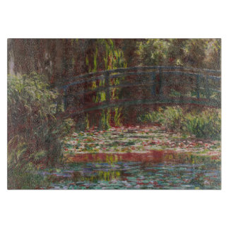 Claude Monet Water Lilies and Japanese Bridge Cutting Board