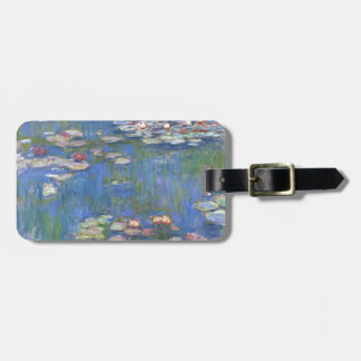 Claude Monet // Water Lilies Luggage Tag