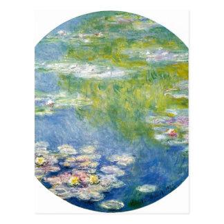 Claude Monet Water-Lilies Nymph?as 1908 Technique Postcards