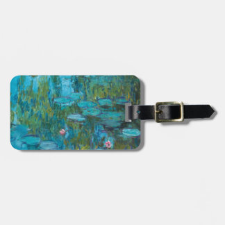 Claude Monet Water Lilies Nymphéas GalleryHD Luggage Tag