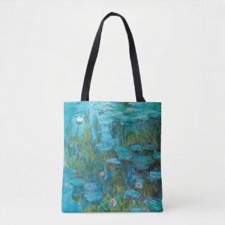 Claude Monet Water Lilies Nymphéas GalleryHD Tote Bag