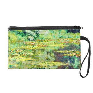 Claude Monet - Water Lillies - Bassin des Nympheas Wristlet Purses
