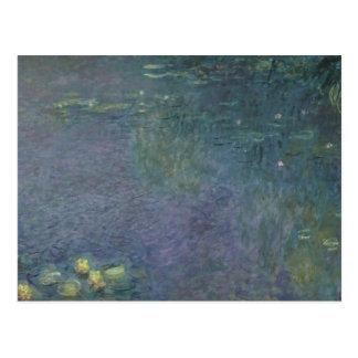 Claude Monet   Waterlilies: Morning, 1914-18 Postcard
