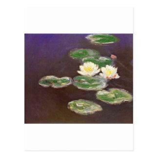 Claude Monet - Waterlilies Postcard