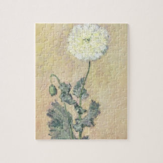 Claude Monet | White Poppy, 1883 Jigsaw Puzzle