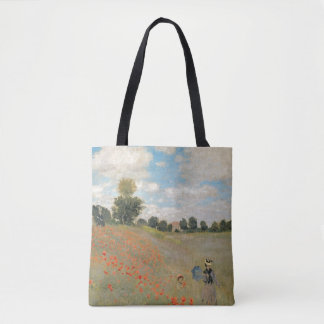 Claude Monet | Wild Poppies, near Argenteuil Tote Bag