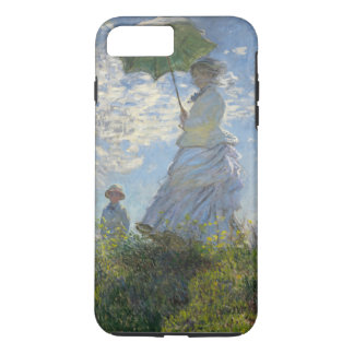 Claude Monet Woman With A Parasol Fine Art Vintage iPhone 8 Plus/7 Plus Case