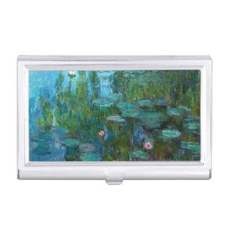 Claude Monet's Nymphéas Business Card Cases