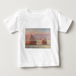Claude Monet's White Frost Sunrise (1889) Baby T-Shirt