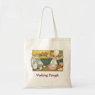 Claude the Baker - making dough Tote Bag