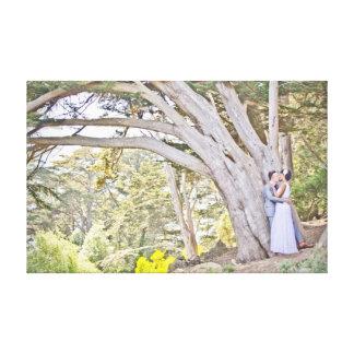 Claudia & Scott's Wedding Canvas