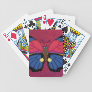 Claudina Butterfly Bicycle Playing Cards