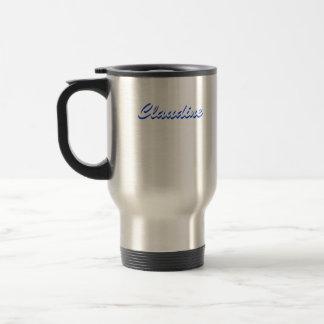 Claudine travel mug