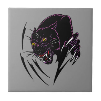 Clawing Panther Tile