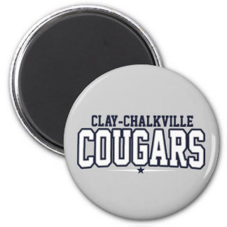 Clay-Chalkville High School Cougars Magnet