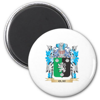 Clay Coat of Arms - Family Crest Magnets