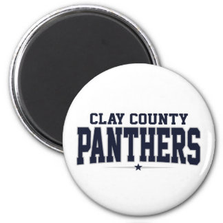 Clay County High School; Panthers Fridge Magnets