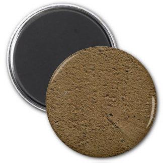 Clay pot refrigerator magnet