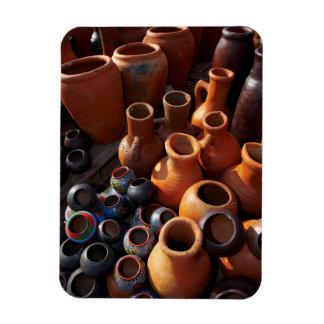 Clay Pots, Hazyview, Mpumalanga, South Africa Rectangular Photo Magnet