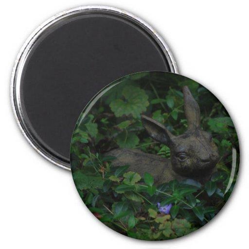 Clay rabbit Magnet