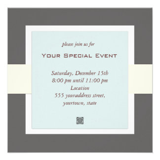 Clean and Simple Business Event Invitation