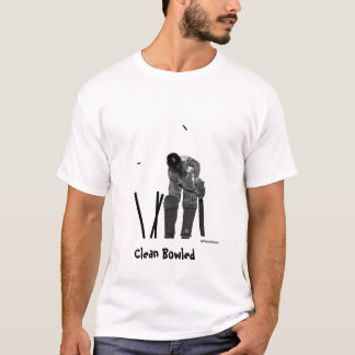 Clean Bowled t shirt