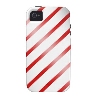 Clean Candy Cane iPhone 4 Cases