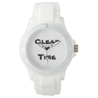 Clean Time Women's Sports Watch