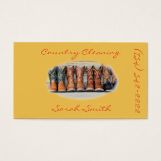 Cleaning/ Housework Business Card