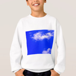 Clear Blue Sky and White Clouds Sweatshirt