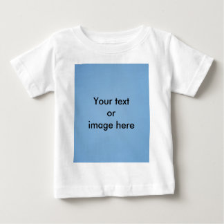 Clear blue sky photo template baby T-Shirt
