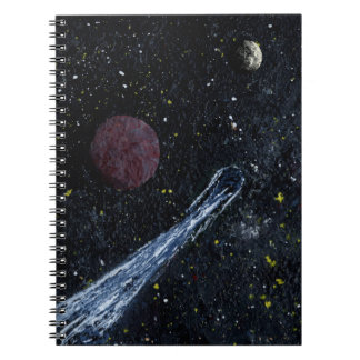 CLEAR SAILING an outer space design Note Books