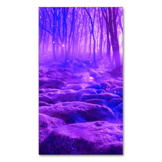 Clearing in the Forest Magnetic Business Card
