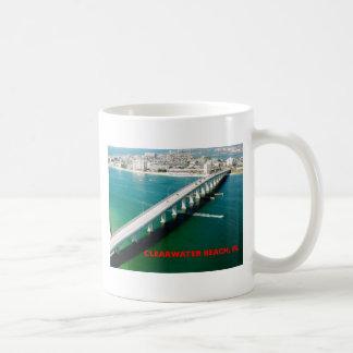 CLEARWATER BEACH FLORIDA BASIC WHITE MUG